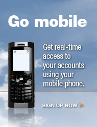 Sign Up Now for mobile banking